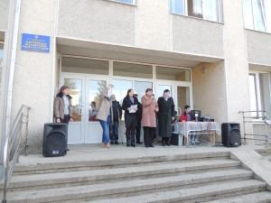 Захід відкриває директор школи В. В. Свєташ