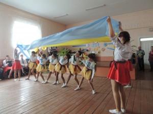 """Хореографічна  композиція """"Вставай, Україно"""""""